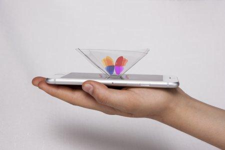 Smartphone Pyramid Projector