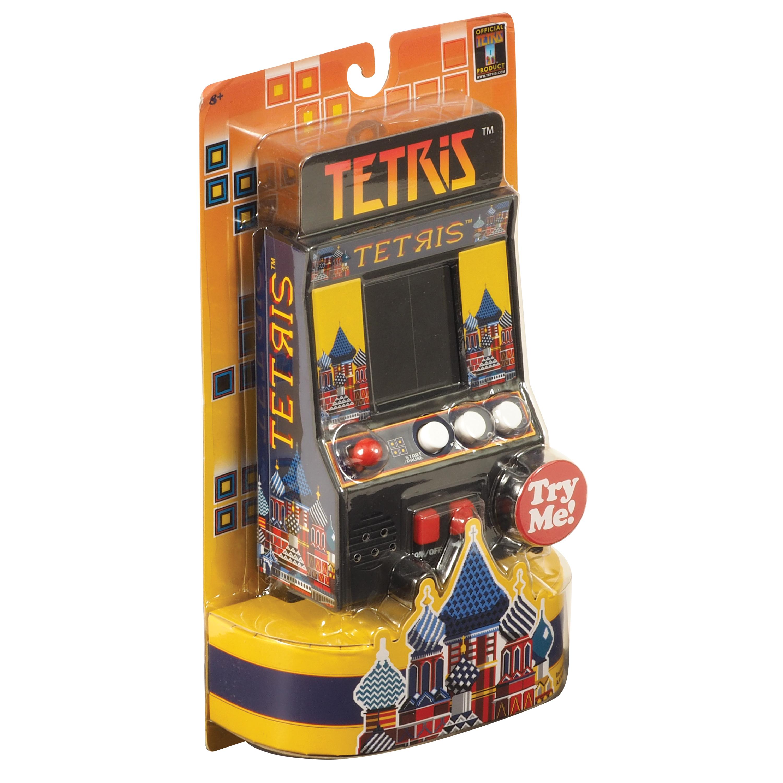 Tetris Retro Mini Arcade Game - ScientificsOnline com