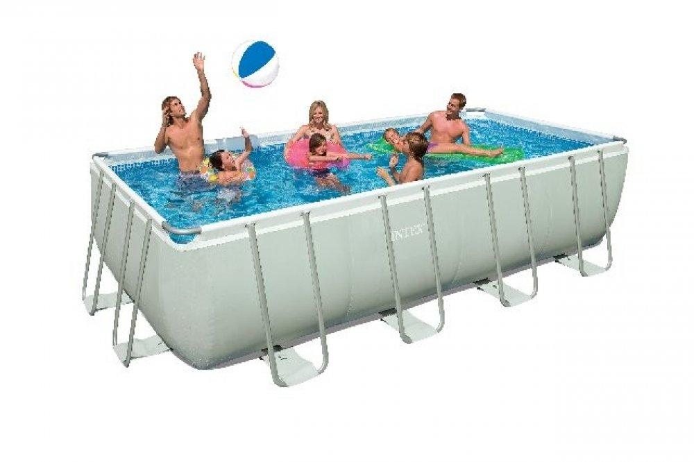 intex ultra frame 18 x 9 rectangle swimming pool