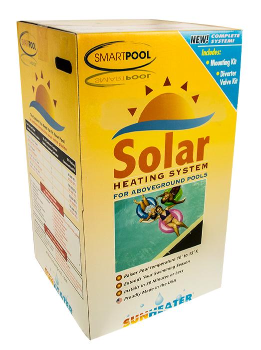 Sunheater 174 2 2 X 20 80 Sq Ft Complete Solar Heating