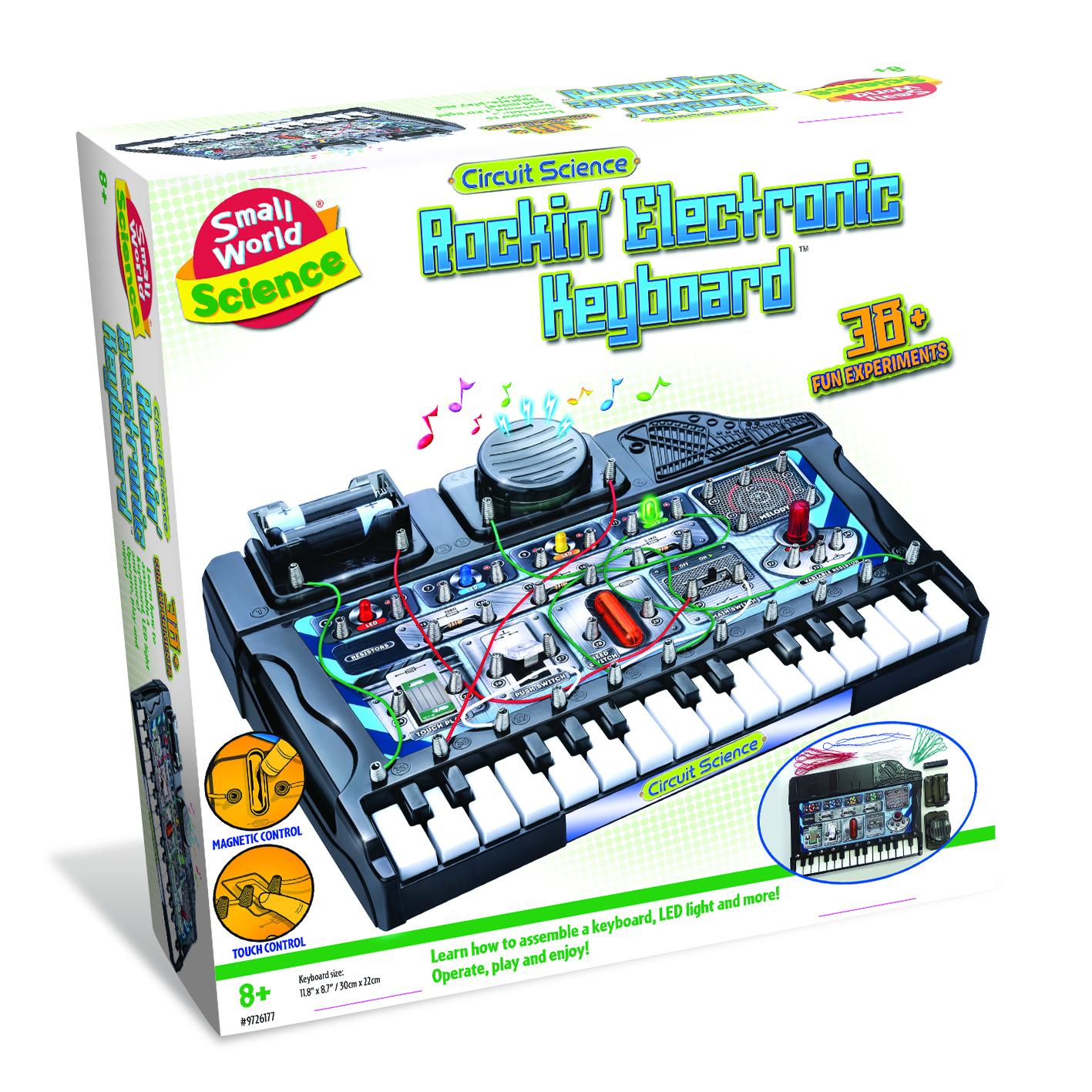 Circuit Science Rockin Electronic Keyboard Ebay Elenco Snap Circuits Green Alternative Energy From