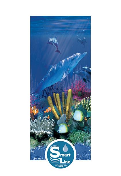 Smartline 174 27 Round Antilles Dolphin Overlap Liner 48