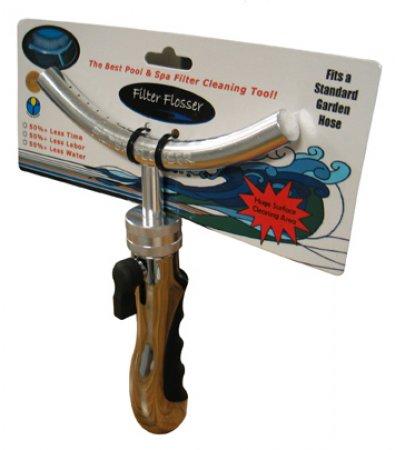 Filter Flosser Pool & Spa Cartridge Cleaning Tool