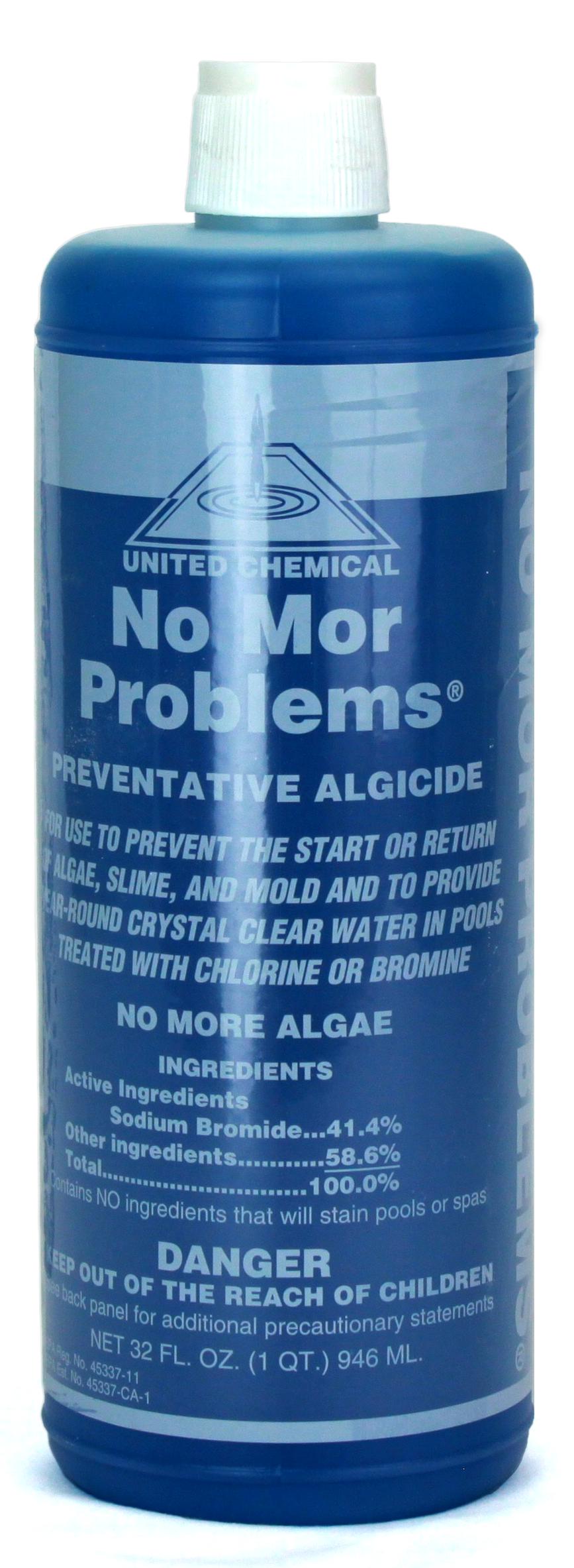 No Mor Problems Preventative Algaecide 32 Oz