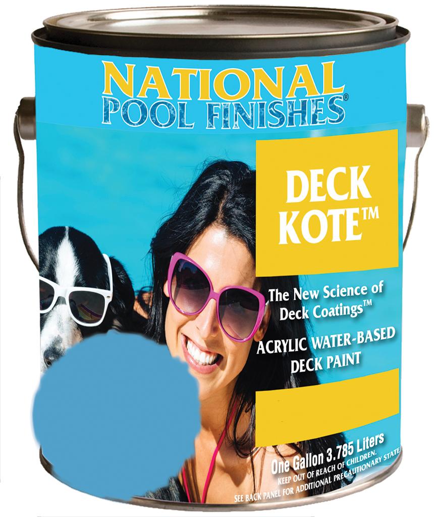 National Paint Pool Deck Kote Concrete Paint New England