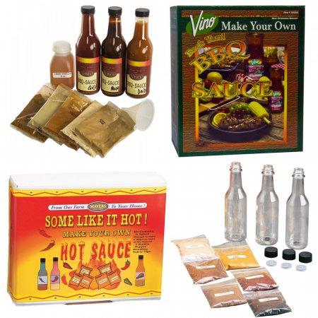 Hot Sauce & BBQ Kit