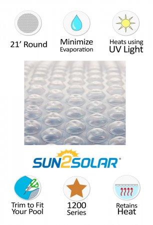 Sun2Solar® Crystal Clear Solar Cover - 1200 Series