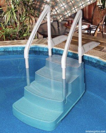 Innovaplas Fiesta Above Ground Pool Step Poolsupplies Com