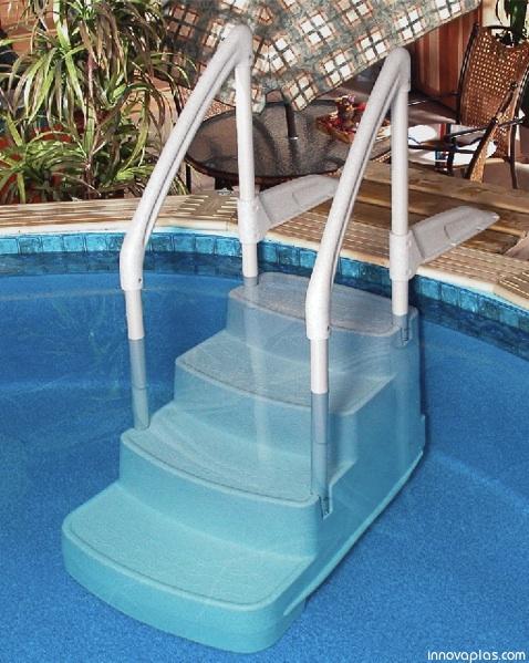 Innovaplas Fiesta Above Ground Pool Steps Poolsupplies Com