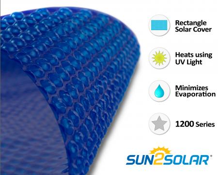 Sun2Solar® Supreme Blue Solar Cover - 1200 Series™