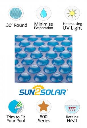 Sun2Solar® Standard Blue Solar Cover - 800 Series