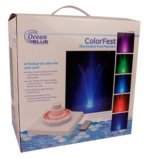 Colorfest Fountain Light Poolsupplies Com