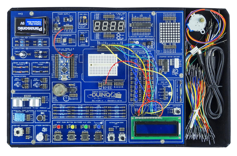 Arduino Essentials Learning Kit - ScientificsOnline com