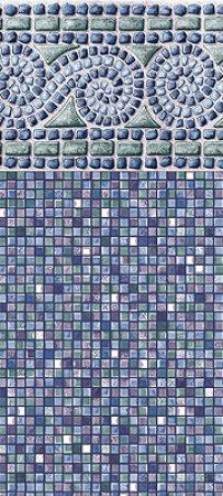 28 Round Portofino Beaded Liner 48 Quot H 20 Gauge