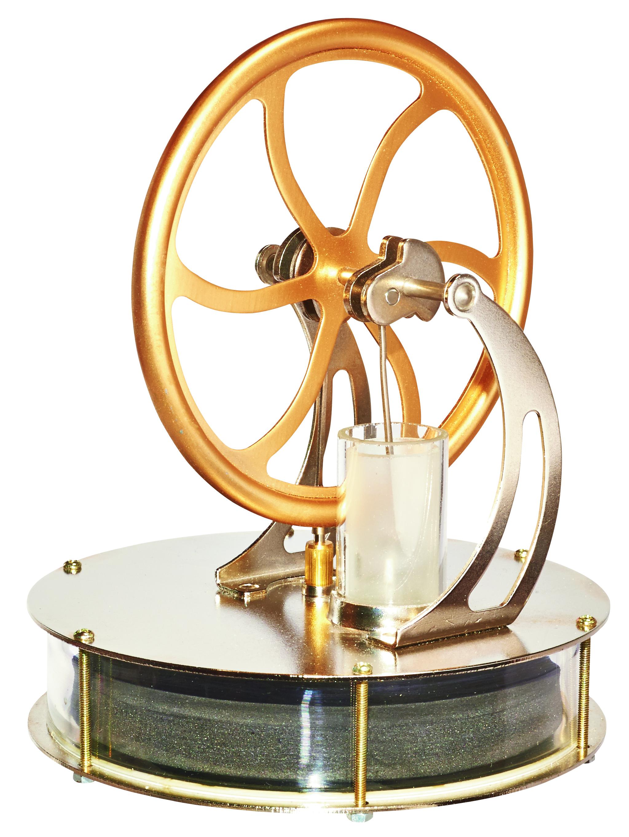 Coffee Powered Stirling Engine - ScientificsOnline com