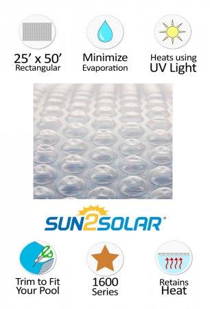 Sun2Solar® Crystal Clear Solar Cover - 1600 Series