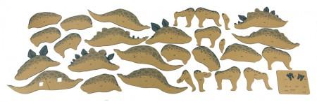 3-Dimensional Dinosaur Kits