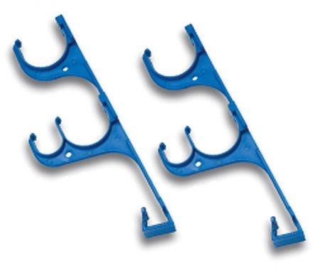 Aqua Select® Triple Hook Hanger Plastic - Set of 2