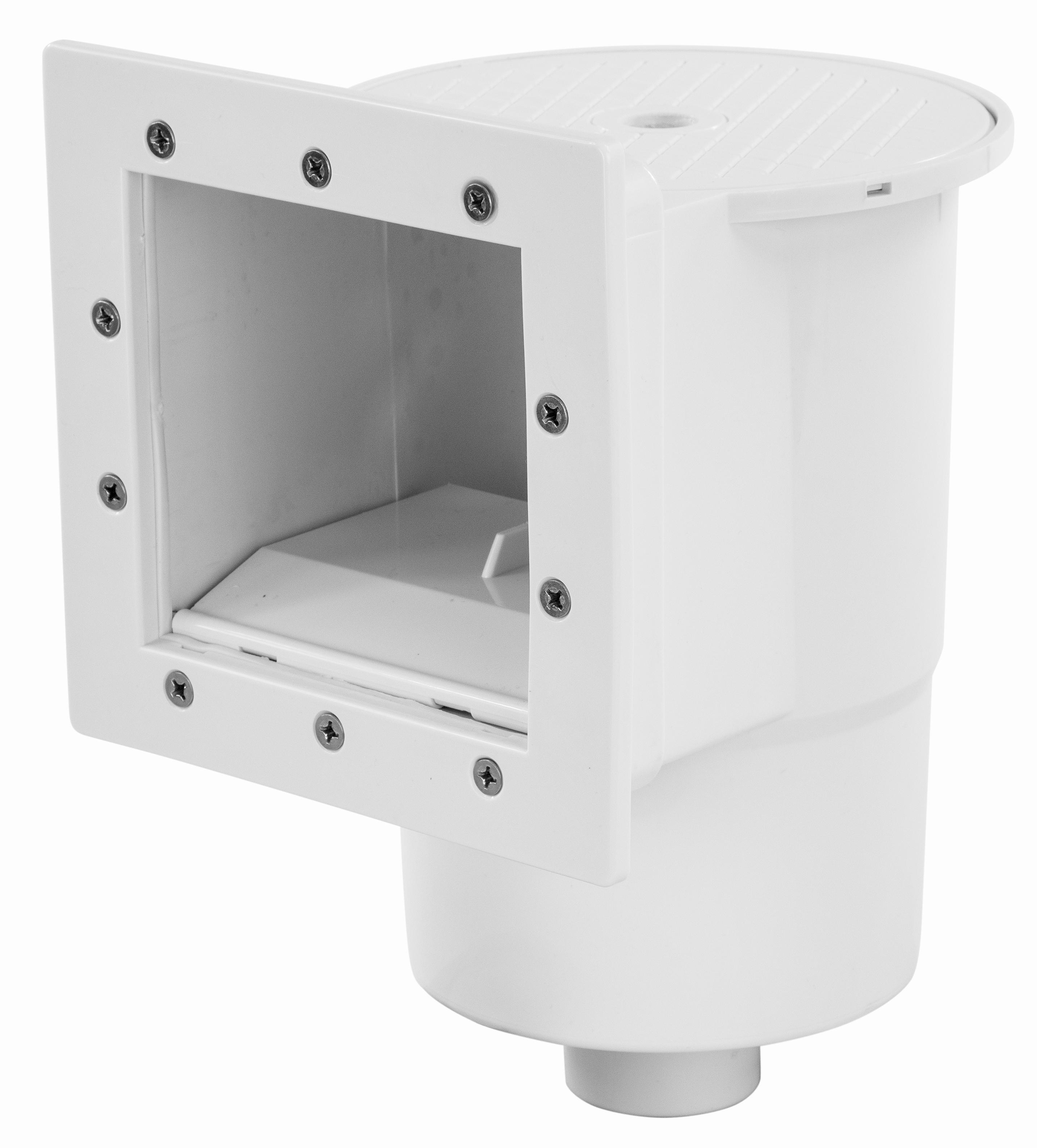 Standard thru wall skimmer for above ground swimming pools for Above ground swimming pool wall parts