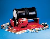 Double Barrel Rock Polishing Tumbler & Polishing Kit