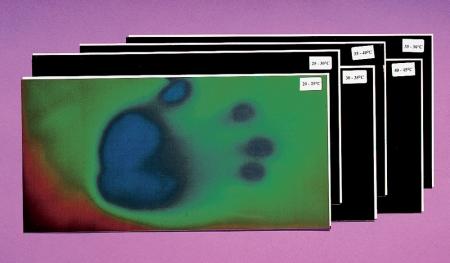 Temperature Sensitive Liquid Crystal Sheet