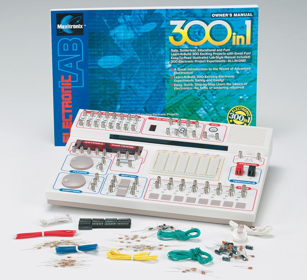 Electronic Lab 300-In-1 - ScientificsOnline com