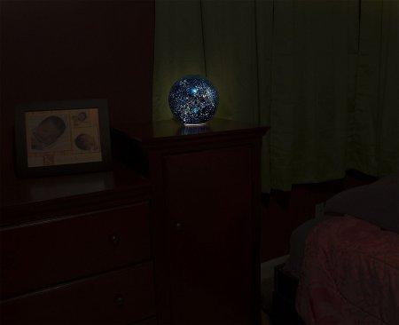"Lighted Celestial Reflecting Globe (8"")"