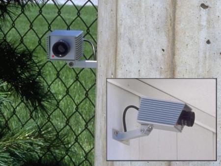 Dummy Security Camera With Blinking Led