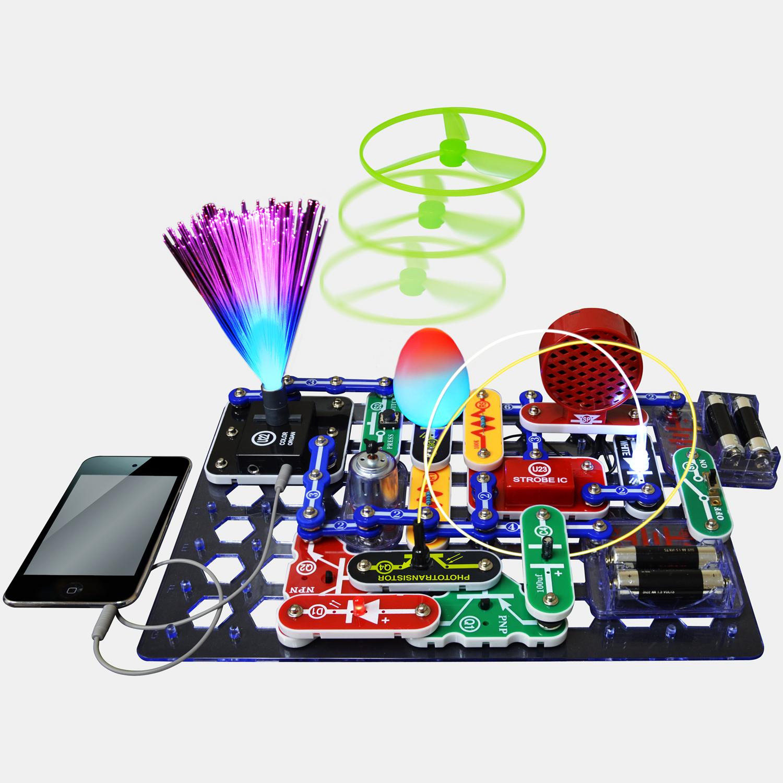 Snap Circuits Light Color Organ