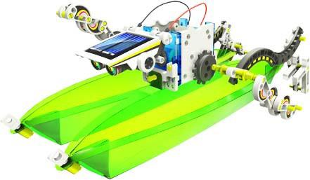 14 in 1 Educational Solar Robot Kit - ScientificsOnline.com