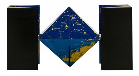 K-DRON Universe (Globe-Map Hybrid)