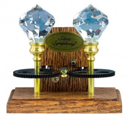 Serenade- Dual Crystal Solar Symphony Rainbow Maker