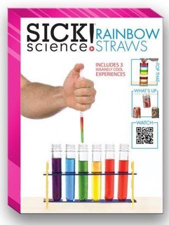 SICK Science Rainbow Straws
