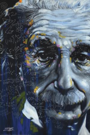 Einstein It's All Relative Poster
