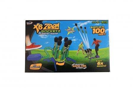 X6 Zoom 6-Shooter Launcher