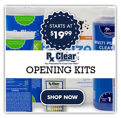 Pool Opening Kits