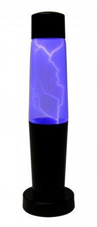 Blue Lightning Storm Lamp
