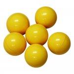 EXTRA Yellow Chaos Marble Balls (6 pcs)