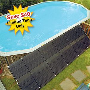 Sunheater 4 39 X 20 39 Above Ground Solar Heating Panel