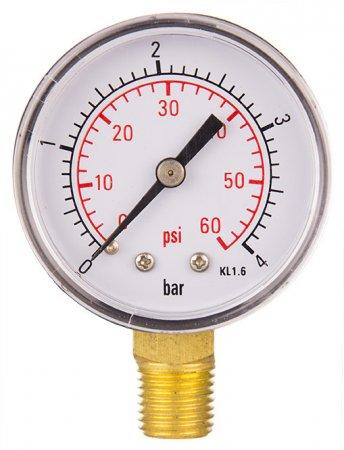 "Aqua Select® Pressure Gauge ¼"" Side Mount"