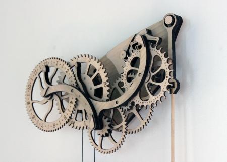 Mechanical Wood Clock Kit Scientificsonline Com