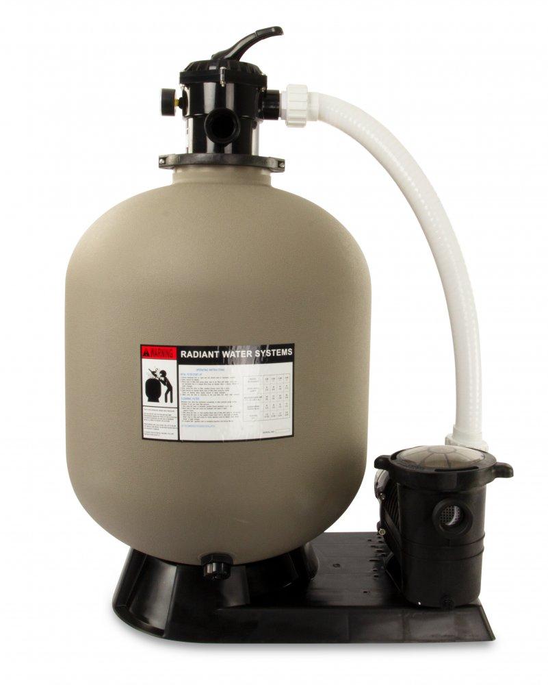 1 HP Mighty Niagara Pump Filter Valve Maximum Flow Rate 4740 GPH Steel and PP vidaXL Sand Filter System
