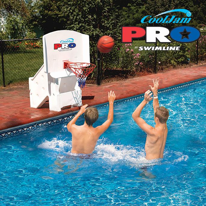 Cool Jam Pro Basketball Net And Backboard Poolsupplies Com
