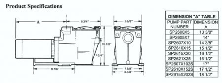 Hayward® Super Pump For Inground Pools