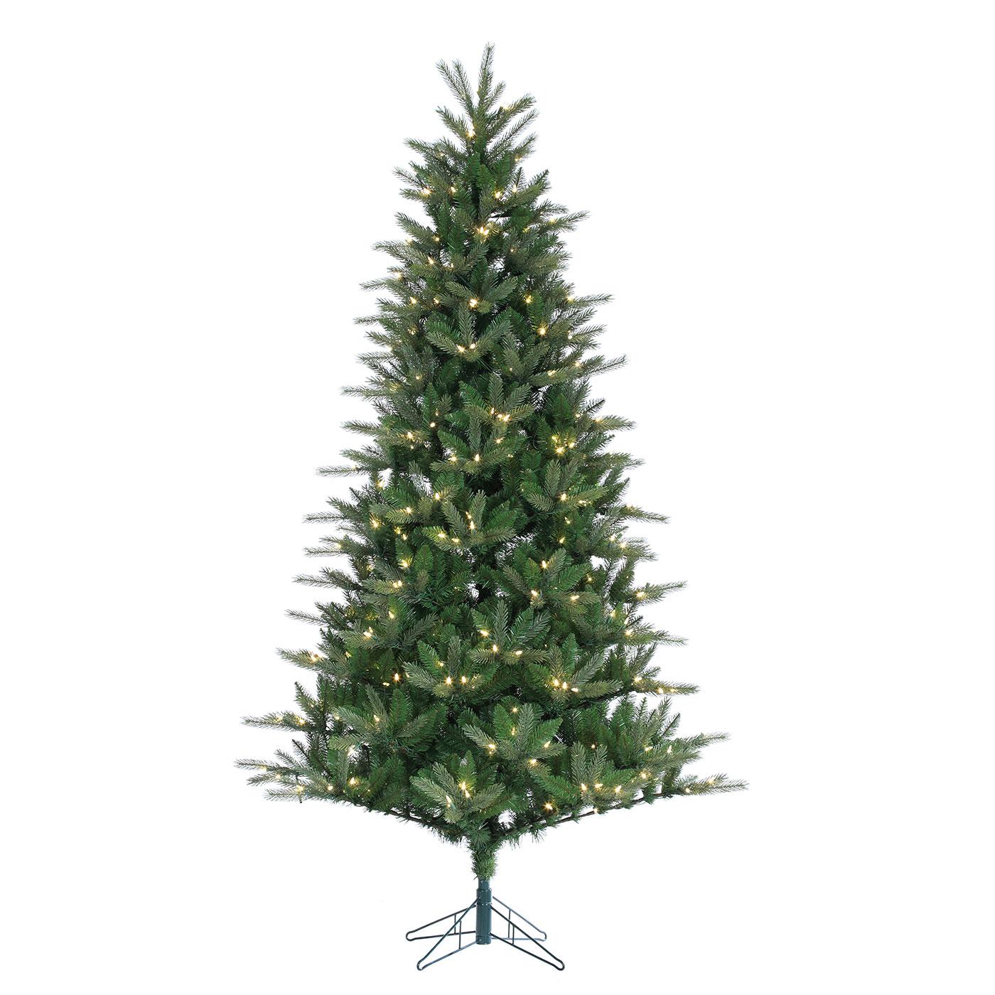 Costco Twinkling Christmas Tree: 7.5' Christmas Spruce Tree W/ Twinkling LEDs