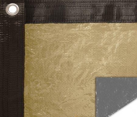 Buffalo Blizzard® Supreme Plus Tan Winter Cover for a 16' x 24' Rectangle Pool