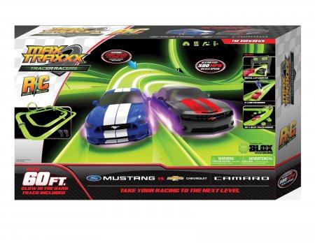 Tracer Racer RC Showdown Mustang vs Camaro