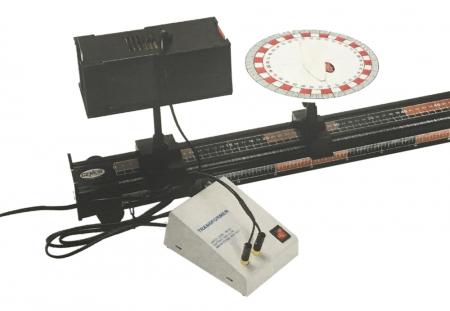 Cenco Physics Optics Upgrade 2 For Use With Cenco Dynamics Track