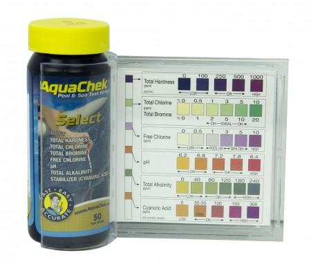7-way AquaChek Select Test Strips
