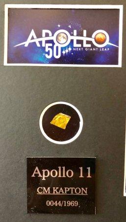 Apollo 11 50th Anniversary Framed Print with Kapton